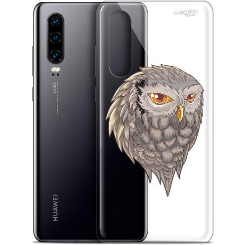 "Carcasa Gel Extra Fina Huawei P30 (6.1"") Design Hibou Draw"