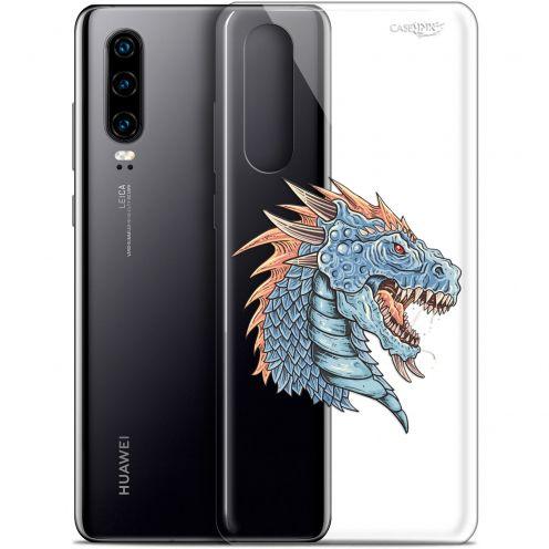 "Carcasa Gel Extra Fina Huawei P30 (6.1"") Design Dragon Draw"