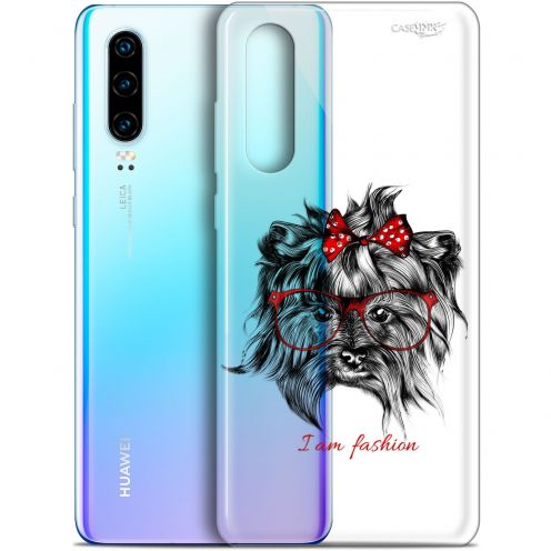 "Carcasa Gel Extra Fina Huawei P30 (6.1"") Design Fashion Dog"