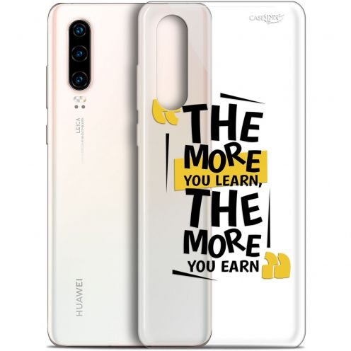 "Carcasa Gel Extra Fina Huawei P30 (6.1"") Design The More You Learn"