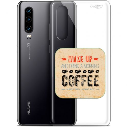 "Carcasa Gel Extra Fina Huawei P30 (6.1"") Design Wake Up With Coffee"