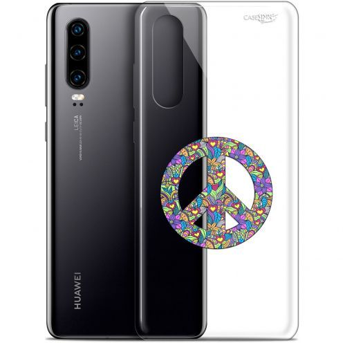 "Carcasa Gel Extra Fina Huawei P30 (6.1"") Design Peace And Love"