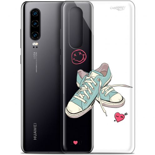 "Carcasa Gel Extra Fina Huawei P30 (6.1"") Design Mes Sneakers d'Amour"