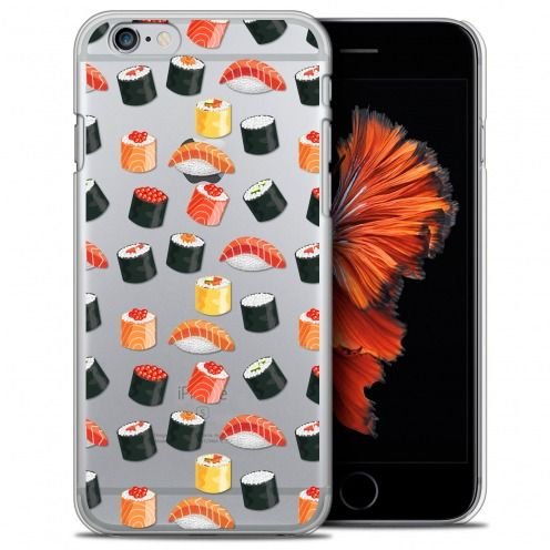 Carcasa Crystal Extra Fina iPhone 6/6s (4.7) Foodie Sushi
