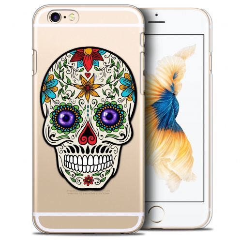 Carcasa Crystal Extra Fina iPhone 6/6s (4.7) Skull Maria's Flower