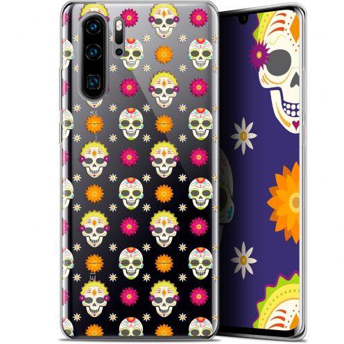 "Carcasa Gel Extra Fina Huawei P30 Pro (6.47"") Halloween Skull Halloween"
