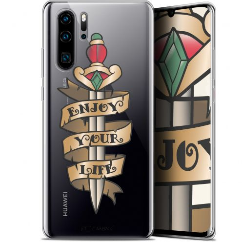 "Carcasa Gel Extra Fina Huawei P30 Pro (6.47"") Tatoo Lover Enjoy Life"
