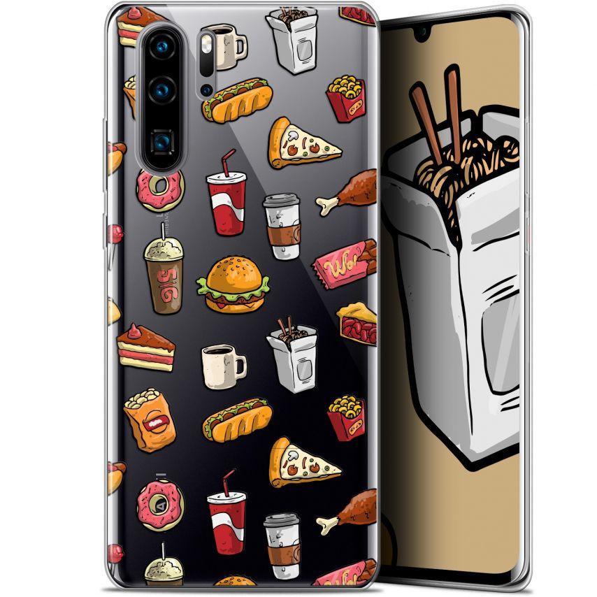 "Carcasa Gel Extra Fina Huawei P30 Pro (6.47"") Foodie Fast Food"