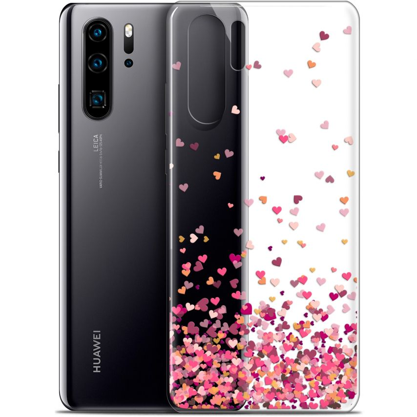 "Carcasa Gel Extra Fina Huawei P30 Pro (6.47"") Sweetie Heart Flakes"