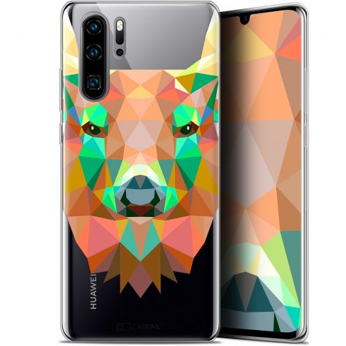 "Carcasa Gel Extra Fina Huawei P30 Pro (6.47"") Polygon Animals Ciervo"