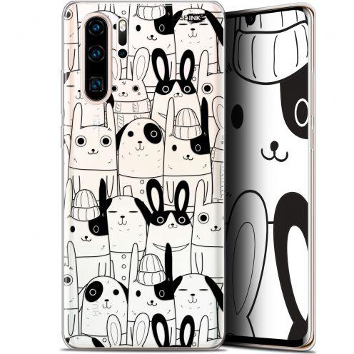 "Carcasa Gel Extra Fina Huawei P30 Pro (6.47"") Design Lapin Noir"