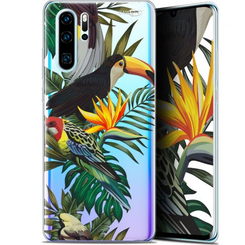 "Carcasa Gel Extra Fina Huawei P30 Pro (6.47"") Design Toucan Tropical"