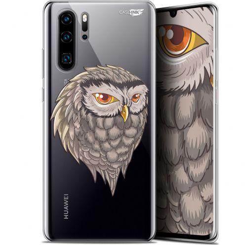"Carcasa Gel Extra Fina Huawei P30 Pro (6.47"") Design Hibou Draw"