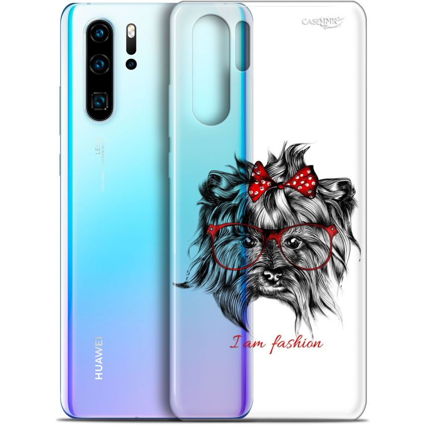 "Carcasa Gel Extra Fina Huawei P30 Pro (6.47"") Design Fashion Dog"
