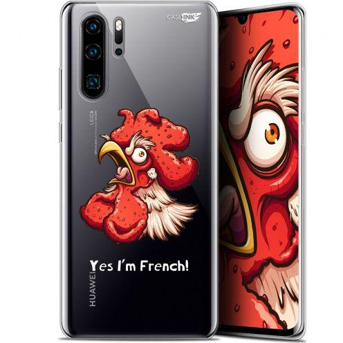 """Carcasa Gel Extra Fina Huawei P30 Pro (6.47"""") Design I'm French Coq"""