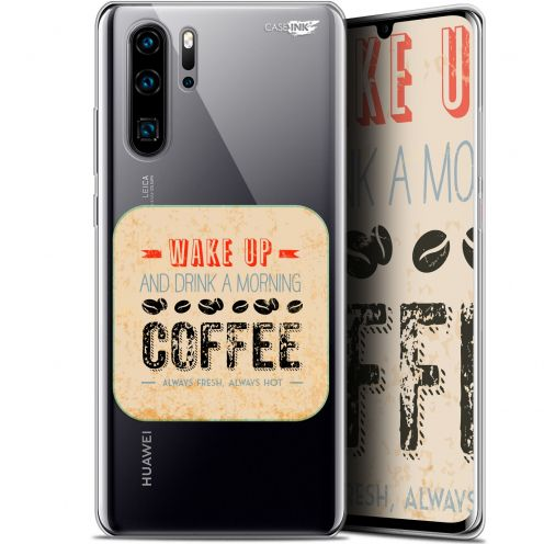 "Carcasa Gel Extra Fina Huawei P30 Pro (6.47"") Design Wake Up With Coffee"