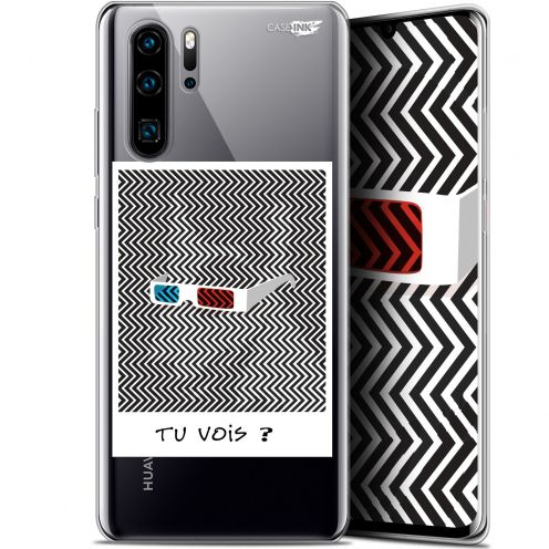 "Carcasa Gel Extra Fina Huawei P30 Pro (6.47"") Design Tu Vois ce que Je Vois ?"