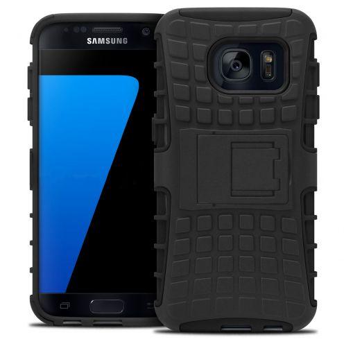 Carcasa antigolpes Spider Clubcase® Samsung Galaxy S7 Negro