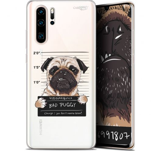 "Carcasa Gel Extra Fina Huawei P30 Pro (6.47"") Design Beware The Puggy Dog"