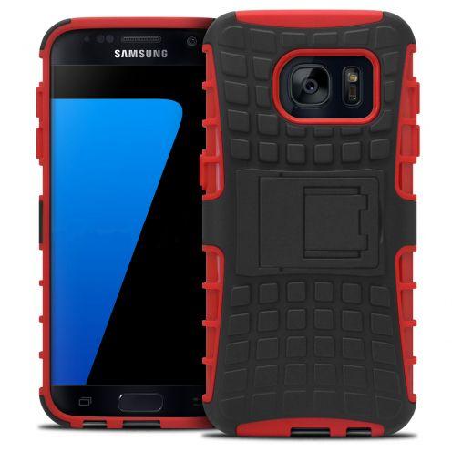 Carcasa antigolpes Spider Clubcase® Samsung Galaxy S7 Roja