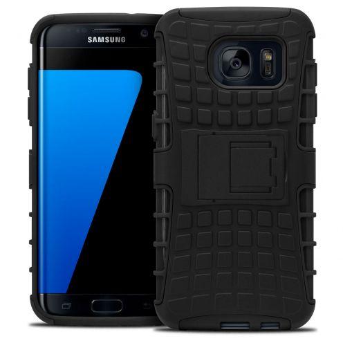 Carcasa antigolpes Spider Clubcase® Samsung Galaxy S7 Edge Negro