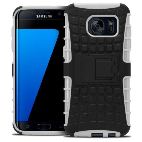 Carcasa antigolpes Spider Clubcase® Samsung Galaxy S7 Edge Blanco