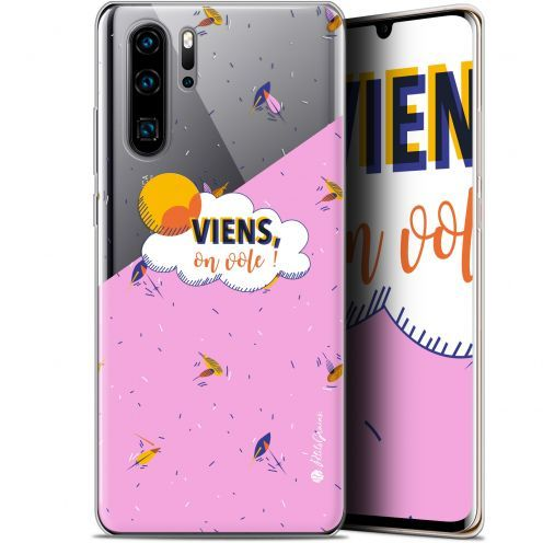 "Carcasa Gel Extra Fina Huawei P30 Pro (6.47"") Petits Grains® VIENS, On Vole !"