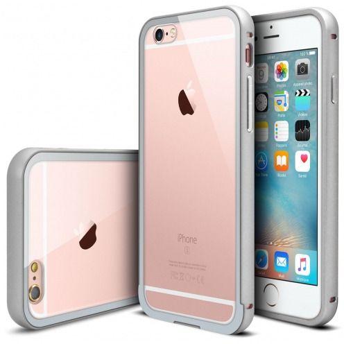 Bumper Apple iPhone 6s/6 Aluminium y Ventana Plata