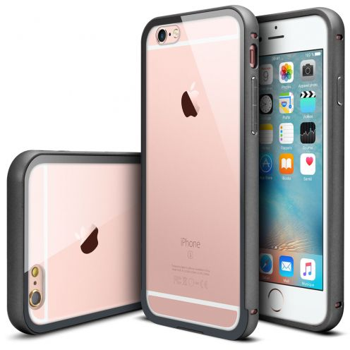 Bumper Apple iPhone 6s/6 Aluminium y Ventana Negro