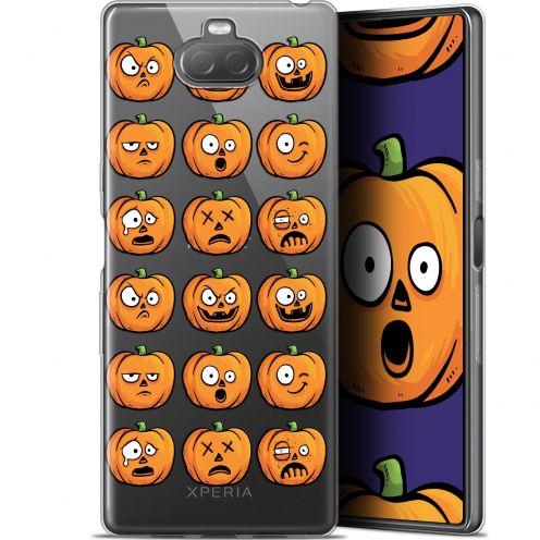 "Carcasa Gel Extra Fina Sony Xperia 10 Plus (6.5"") Halloween Cartoon Citrouille"