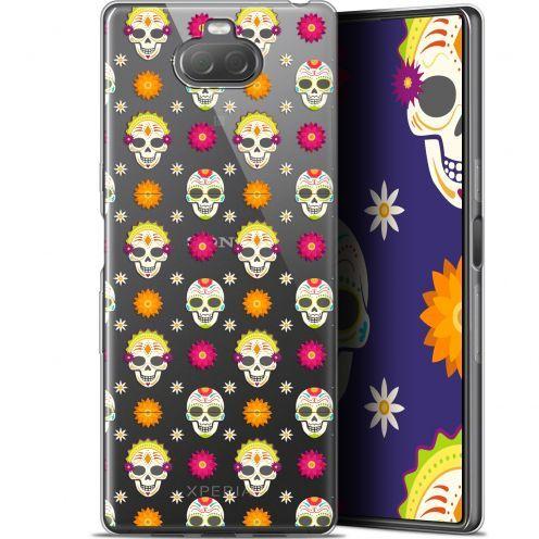 "Carcasa Gel Extra Fina Sony Xperia 10 Plus (6.5"") Halloween Skull Halloween"