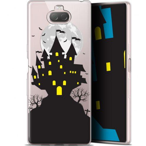 "Carcasa Gel Extra Fina Sony Xperia 10 Plus (6.5"") Halloween Castle Scream"