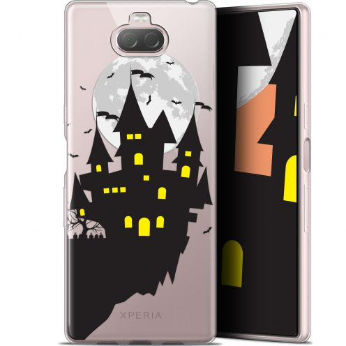 "Carcasa Gel Extra Fina Sony Xperia 10 Plus (6.5"") Halloween Castle Dream"