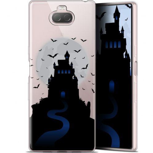 "Carcasa Gel Extra Fina Sony Xperia 10 Plus (6.5"") Halloween Castle Nightmare"