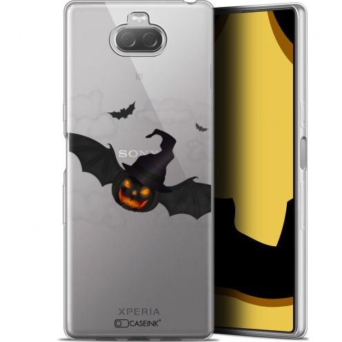 "Carcasa Gel Extra Fina Sony Xperia 10 Plus (6.5"") Halloween Chauve Citrouille"