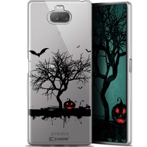 "Carcasa Gel Extra Fina Sony Xperia 10 Plus (6.5"") Halloween Devil's Tree"