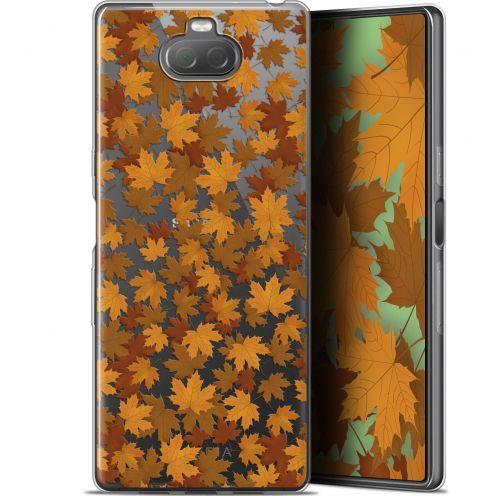 "Carcasa Gel Extra Fina Sony Xperia 10 Plus (6.5"") Autumn 16 Feuilles"