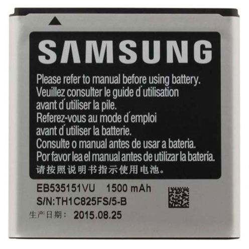 Batería genuina EB535151VU Para Samsung Galaxy S Advance