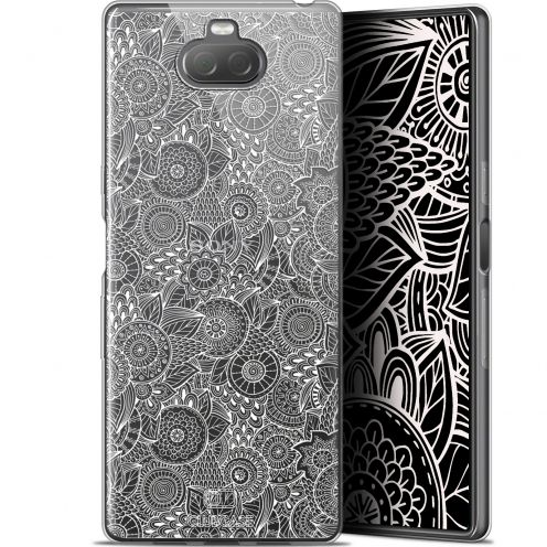 "Carcasa Gel Extra Fina Sony Xperia 10 Plus (6.5"") Dentelle Florale Blanc"
