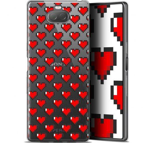 "Carcasa Gel Extra Fina Sony Xperia 10 Plus (6.5"") Love Pixel Art"