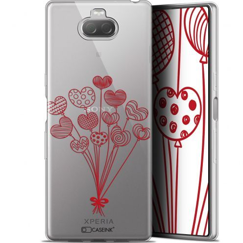 "Carcasa Gel Extra Fina Sony Xperia 10 Plus (6.5"") Love Ballons d'amour"
