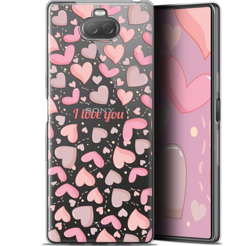 "Carcasa Gel Extra Fina Sony Xperia 10 Plus (6.5"") Love I Love You"