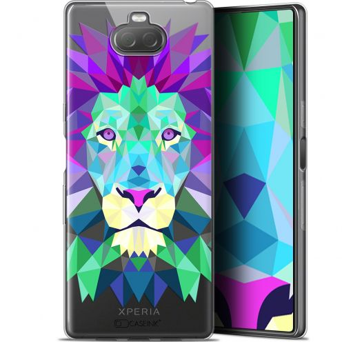 "Carcasa Gel Extra Fina Sony Xperia 10 Plus (6.5"") Polygon Animals León"