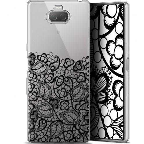 "Carcasa Gel Extra Fina Sony Xperia 10 Plus (6.5"") Spring Bas dentelle Noir"
