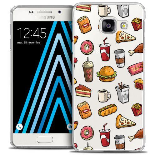 Carcasa Crystal Extra Fina Galaxy A3 2016 (A310) Foodie Fast Food