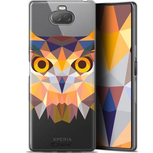 "Carcasa Gel Extra Fina Sony Xperia 10 Plus (6.5"") Polygon Animals Búho"
