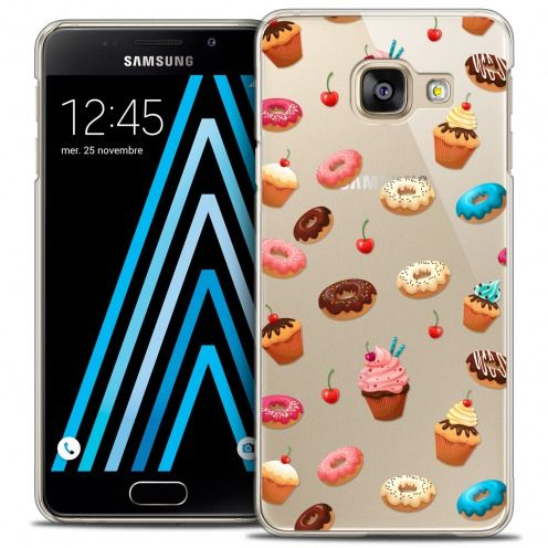 Carcasa Crystal Extra Fina Galaxy A3 2016 (A310) Foodie Donuts