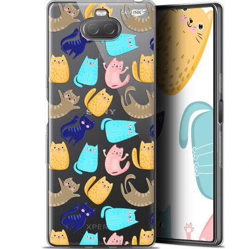 "Carcasa Gel Extra Fina Sony Xperia 10 Plus (6.5"") Design Chat Danse"