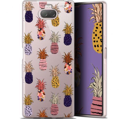 "Carcasa Gel Extra Fina Sony Xperia 10 Plus (6.5"") Design Ananas Gold"