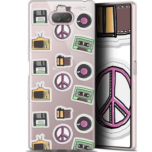 "Carcasa Gel Extra Fina Sony Xperia 10 Plus (6.5"") Design Vintage Stickers"